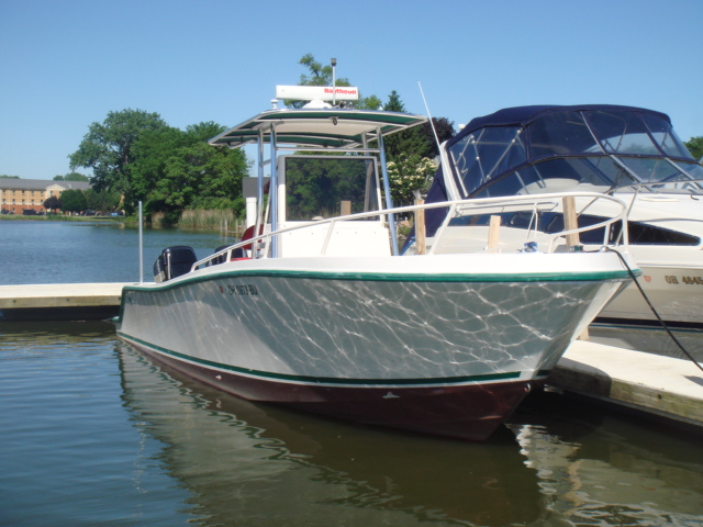 1996 Mako 282 Center Console  for sale at WWW Boat Services Inc.