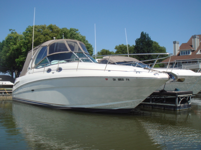 2003 Sea Ray 300 Sundancer  for sale at WWW Boat Services