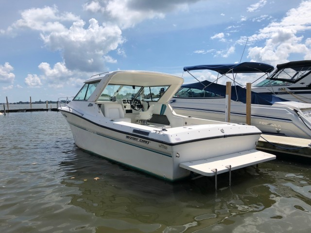 1994 Sport Craft 232 Fishmaster Sport Hardtop  for sale at WWW Boat Services Inc.