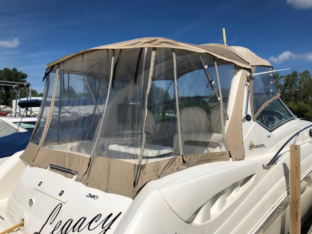 2003 Sea Ray 340 Sundancer  for sale at WWW Boat Services Inc.