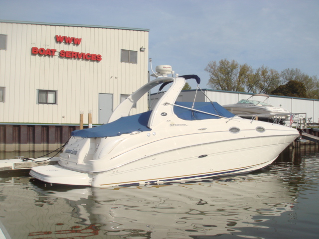 2002 Sea Ray 280 Sundancer  for sale at WWW Boat Services Inc.